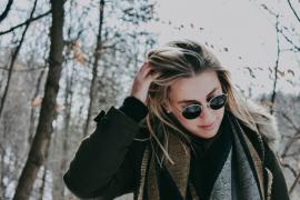5 grunde til du skal bære solbriller om vinteren